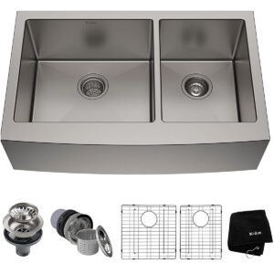 Best Farmhouse Sink Options: Kraus KHF203-33 Standart PRO Kitchen