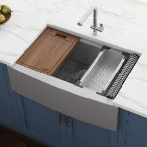Best Farmhouse Sink Options: Ruvati Verona RVH9300 36
