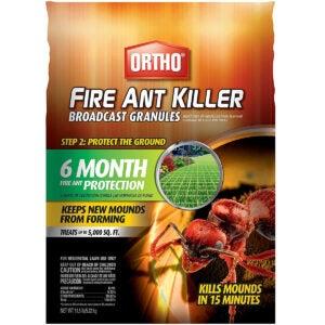The Best Fire Ant Killer Options: Ortho Fire Ant Killer Broadcast Granules