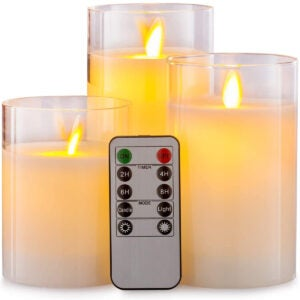 The Best Flameless Candles Options: Aku Tonpa Flameless Candles Battery