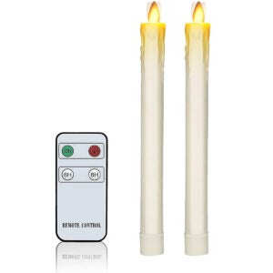 The Best Flameless Candles Options: Flameless Taper Candles H9