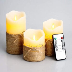 Best Flameless Candles Options: Flickering Flameless Candles