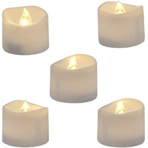 Best Flameless Candles Options: Homemory Realistic and Bright Flickering Bulb