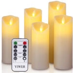 The Best Flameless Candles Options: YIWER LED Candles