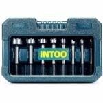 The Best Forstner Bit Set Option: INTOO Forstner Bit Set 8 pcs Wood Drill bit Set