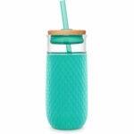 最佳玻璃水瓶选择:Ello Devon玻璃杯与硅胶套筒