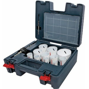 The Best Hole Saw Kit Options: Bosch 25-Piece Master Bi-Metal Hole Saw Kit