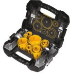 The Best Hole Saw Kit Options: DEWALT Hole Saw Kit, 14-Piece