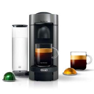 The Best Nespresso Machine Options: Nespresso VertuoPlus Coffee and Espresso Maker