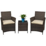 The Best Patio Chairs Options: Devoko Patio Porch Furniture Sets