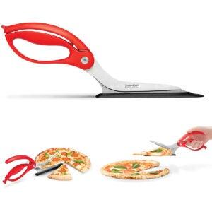 Best Pizza Cutter Options: Dreamfarm (Red) Scizza Scissors