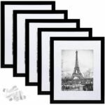 The Best Poster Frames Option: upsimples 11x14 Picture Frame Set of 5