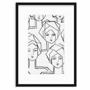 The Best Poster Frames Option: MCS Museum Poster Frame, Medium Oak Woodgrain