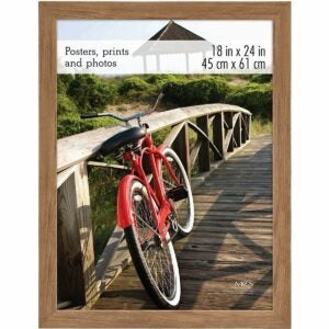 The Best Poster Frames Option: Framebridge Mercer Slim Clean Black Gallery Frame