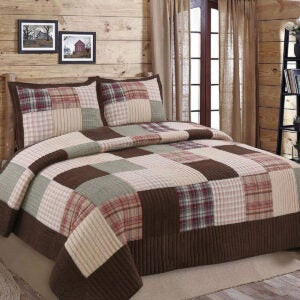 Best Quilts Options: Cozy Line Home Fashions Brody Quilt Bedding Set