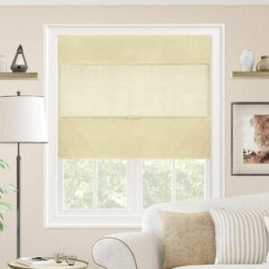The Best Roman Shades Option: CHICOLOGY Magnetic Roman Shades