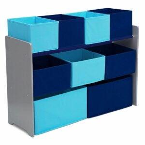 最好的玩具盒选项:Delta儿童豪华多箱玩具组织者