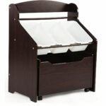 The Best Toy Box Option: Humble Crew Toddler-Size Storage with Rolling Toy Box