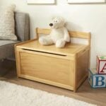 The Best Toy Box Option: Melissa & Doug Wooden Toy Chest - Natural