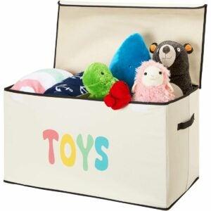最佳玩具盒选择:Woffit儿童玩具收纳箱