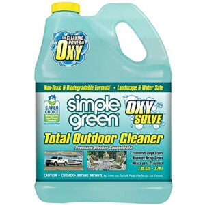 Best Roof Cleaner Options: Oxy Solve Total Outdoor Pressure Washer Cleaner