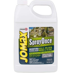 Best Roof Cleaner Options: Rust-Oleum Jomax 308764 Spray Once