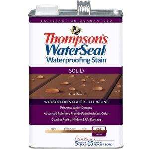 最佳固体甲板染色选项:汤普森水封TH.043841-16
