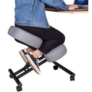 The Best Standing Desk Chair Options: DRAGONN by VIVO Ergonomic Kneeling Chair