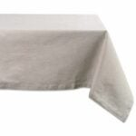 The Best Tablecloths Options: DII 100% Cotton, Chambray Tablecloth, Everyday Basic