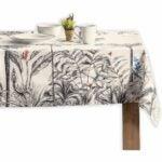 The Best Tablecloths Options: Maison d'Hermine Amazonia 100% Cotton Tablecloth
