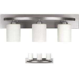 Best Vanity Lighting Options: Bennington Lakeland 3-Bulb Bath Vanity Light