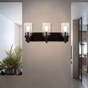 Best Vanity Lighting Options: DLLT Wall Light Fixture, Vintage Bathroom Vanity