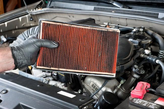 change car air filter