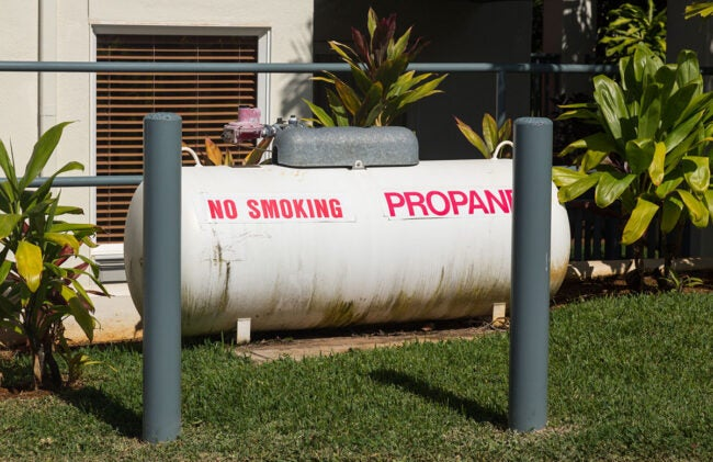 Additional Cost of Propane