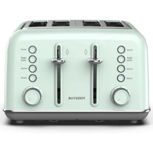 The Best 4 Slice Toaster Options Buydeem