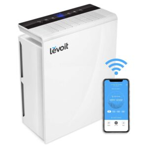 The Best Air Purifier For Mold Options: LEVOIT Smart Wi-Fi Air Purifier