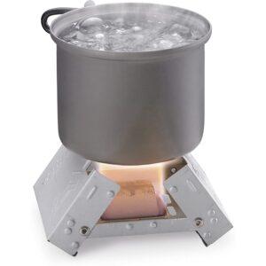 最佳背包炉选择:Esbit超轻折叠口袋炉