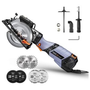 The Best Concrete Saw Options: 6.2A TACKLIFE Premium, Electric Mini Circular Saw