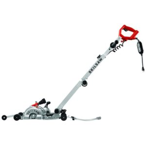 The Best Concrete Saw Options: SKIL 7 Walk Behind Worm Drive Skilsaw for Concrete