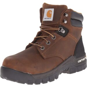 The Best Construction Boots Options: Carhartt Women's Rugged Flex 6 Inch Comp Toe CWF5355