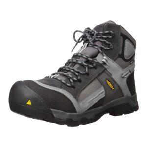 The Best Construction Boots Options: KEEN Utility Men's Davenport 6 Composite Toe