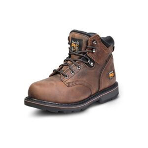 The Best Construction Boots Options: Timberland PRO Men's 6 Pit Boss Steel-Toe