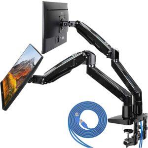 最好的双显示器架选择:华润双监视器双臂安装架