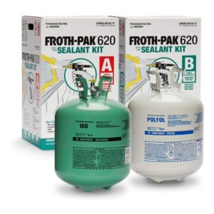 The Best Expanding Foam Options: FROTH-PAK 620 Sealant - 2 Component Foam Insulation