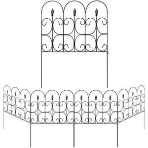 The Best Garden Fence Options: Amagabeli Decorative Garden Fence Wrought Iron