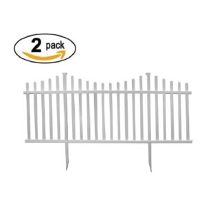 The Best Garden Fence Options: Zippity Outdoor Products Manchester Semi-Permanent