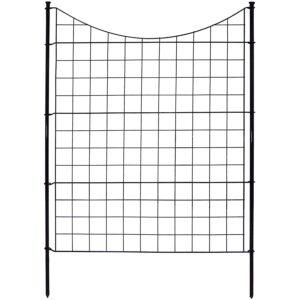 The Best Garden Fence Options: Zippity Outdoor Products WF29002 Garden Metal Fence