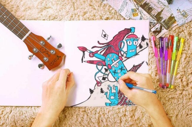 The Best Gel Pens For Coloring Option