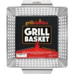 The Best Grill Basket Options: Grillaholics Heavy Duty Stainless Steel Grill Basket