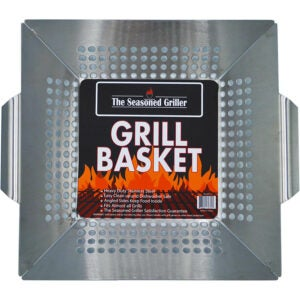 The Best Grill Basket Options: The Seasoned Griller Professional Grade Grill Basket